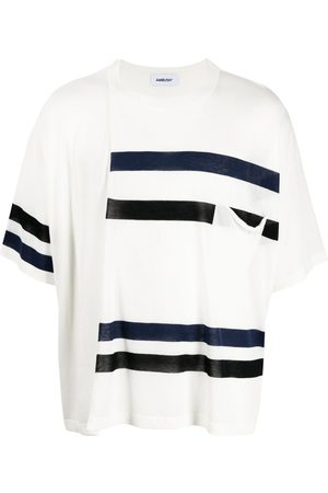 AMBUSH STRIPE MIX KNIT T-SHIRT A NO COLOR