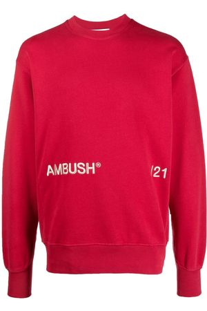 AMBUSH Sweatshirts - Logo-print long-sleeve sweatshirt