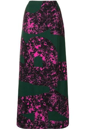 Colville Women Maxi Skirts - Abstract print long skirt