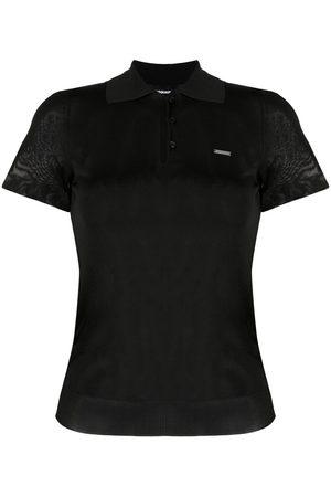 Dsquared2 Women Polo Shirts - Pique polo shirt