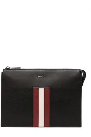 Bally Men Wallets - Striped leather pouch