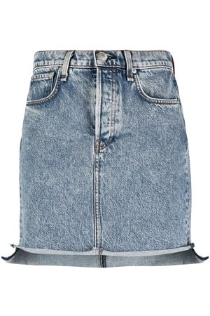 RAG&BONE Women Denim Skirts - Fitted denim skirts