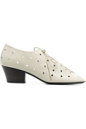 LEMAIRE Perforated lace-up shoes