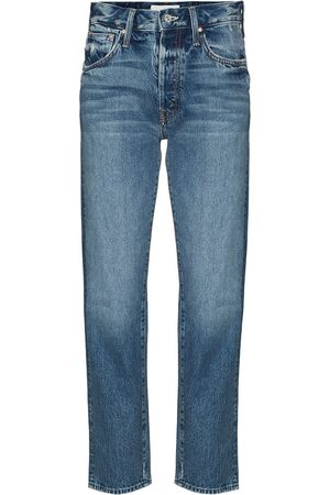 Mother Hiker Hover straight-leg jeans