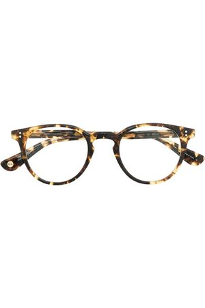 GARRETT LEIGHT Clement tortoiseshell-frame glasses