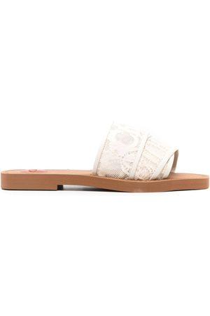 Chloé Women Platform Sandals - Woody flat sandals