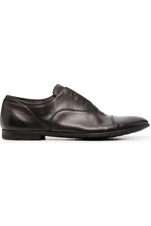 Premiata Laceless leather oxford shoes