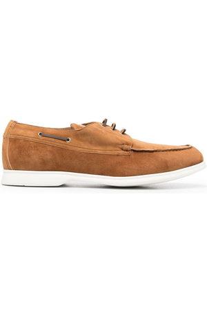 Kiton Men Footwear - Suede boat shoes