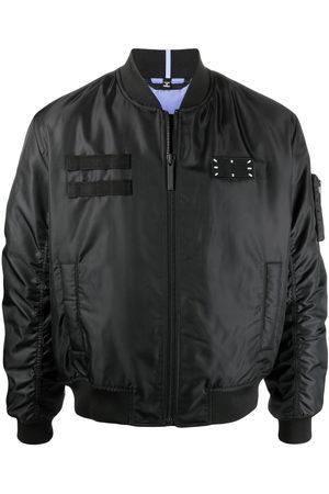 McQ Men Bomber Jackets - Logo patch bomber jacket