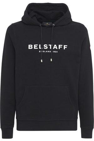 Belstaff Logo Cotton Sweatshirt Hoodie