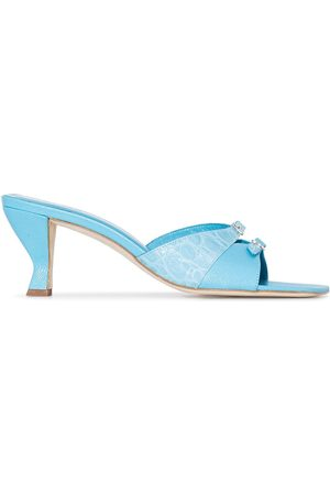 By Far Noor leather mules