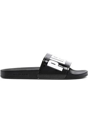Philipp Plein Men Sandals - Logo-print sandals