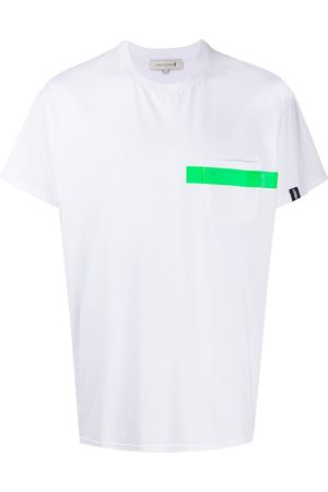 MACKINTOSH Men Short Sleeve - Stripe detail T-shirt