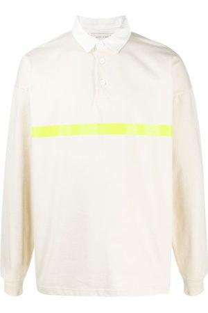 MACKINTOSH Men Shirts - Striped rugby shirt