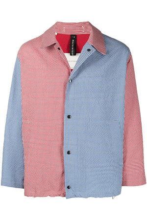 MACKINTOSH Contrast panel coach jacket