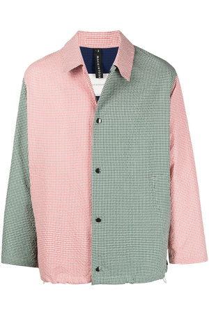 MACKINTOSH Contrast panel shirt jacket