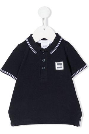 HUGO BOSS Polo Shirts - Logo patch polo shirt