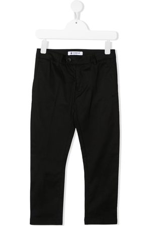 Dondup Trousers - TEEN straight-leg cotton trousers