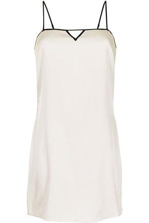 FLEUR DU MAL Women Casual Dresses - Keyhole-embellished slip dress