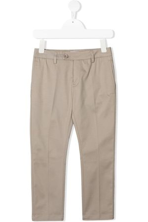 Dondup Boys Trousers - Straight-leg cotton trousers