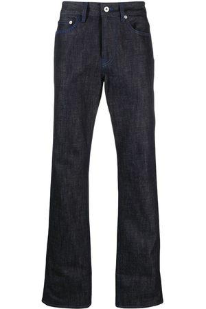 MARCELO BURLON Logo print straight-leg jeans