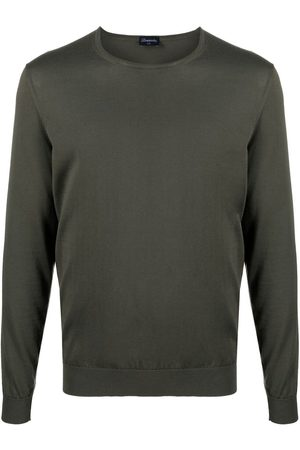 DRUMOHR Men Sweatshirts - Crewneck cotton sweatshirt