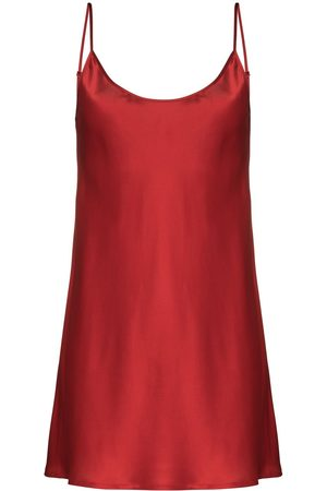 La Perla Scoop-neck silk slip nightdress