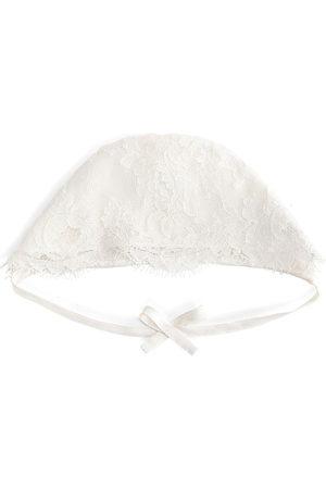 Dolce & Gabbana Bow detail lace hat
