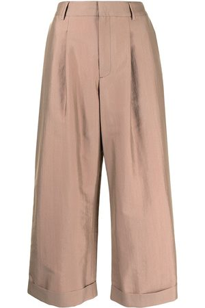 Paul Smith High-waisted culotte trousers