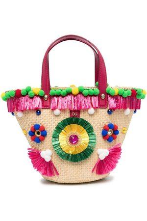 Dolce & Gabbana Girls Bags - Embroidered bucket bag