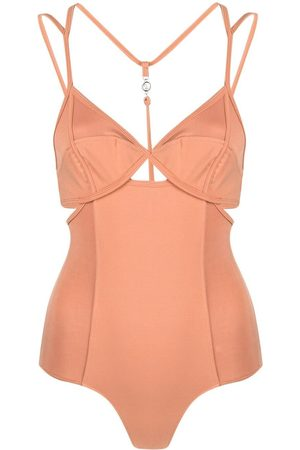 REMAIN Strappy-panelled bodysuit