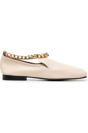 By Far Chain detail loafers