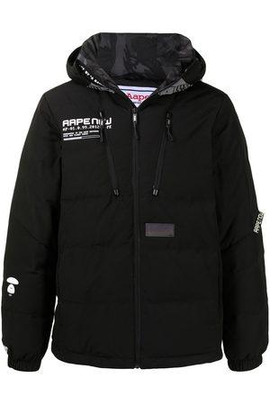 AAPE BY A BATHING APE Padded zip-up jacket