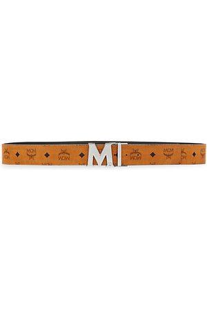 MCM Claus Reversible Cut-To-Size Logo Belt
