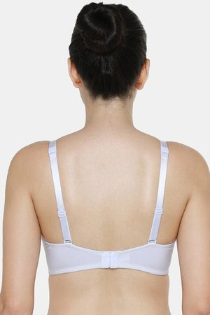 Triumph Women Padded Bras - Fancy T Shirt Bra Invisible Padded Wireless Body Make Up Series Full Coverage And Comfort Bra