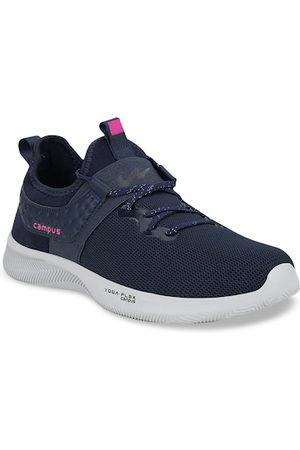 Campus Women Navy Blue Running Shoes