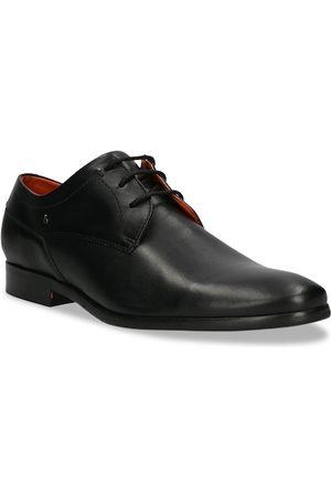 Bugatti Men Black Solid Leather Formal Derbys