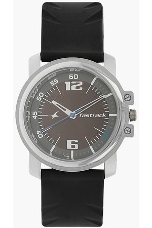 Fastrack Round Dial Analog Men's Wristwatch - NM3039SP02