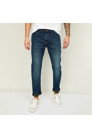 Forca Men Stonewashed Slim Tapered Jeans