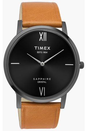 Timex Men Analog Watch with Leather Strap- TWEG17408