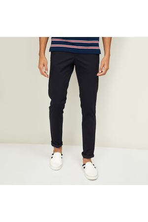 VH Sports Men Solid Slim Fit Casual Trousers