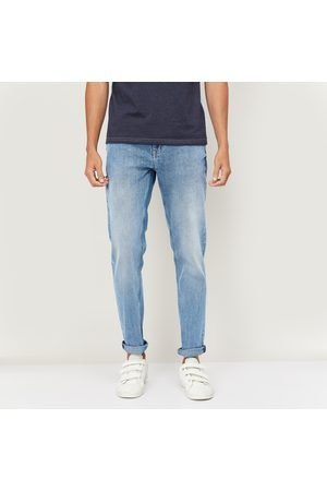 Forca Men Slim Tapered Faded Jeans