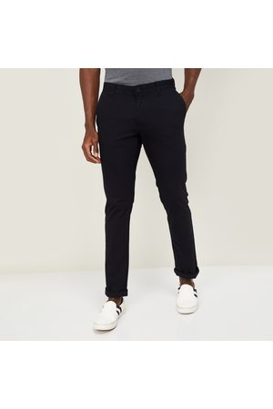 BLACKBERRYS CASUAL Men Solid Slim Straight Fit Chinos