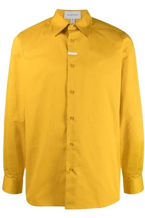Xander Zhou Plaque-detail shirt