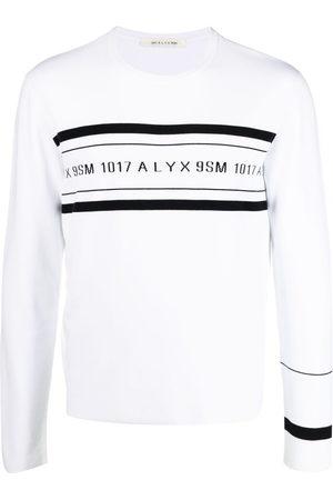 1017 ALYX 9SM Banded logo crewneck jumper