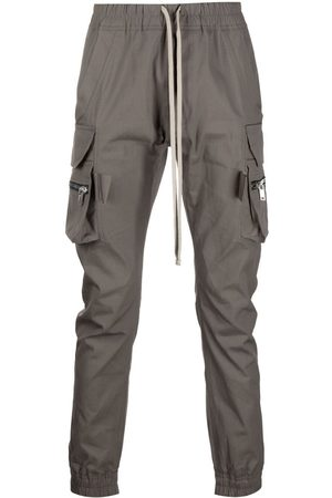 Rick Owens Men Cargo Trousers - Mastodon cargo trousers