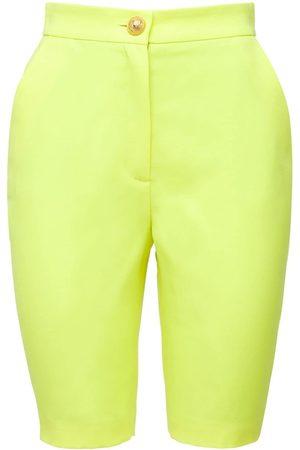 Balmain Wool Grain De Poudre Cycling Shorts