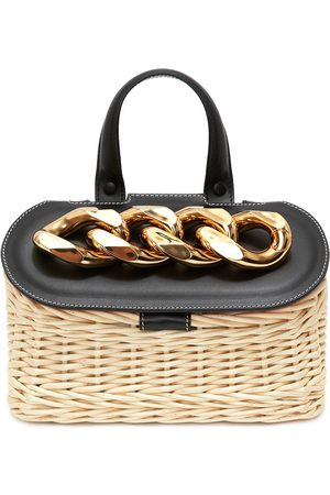 J.W.Anderson Women Tote Bags - Chain lid tote bag