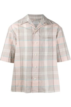 LEMAIRE Checked cotton shirt