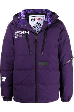 AAPE BY A BATHING APE Hooded padded jacket